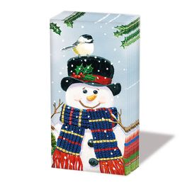 Lencol-de-papel-Snowman-10-pecas-21-x-21-cm---24061