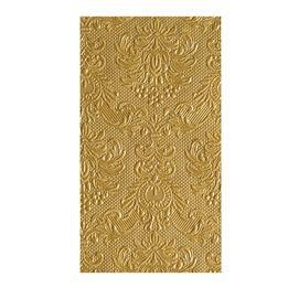 Toalha-de-papel-para-lavabo-Elegance-dourada-12-pecas-42-x-33-cm---10407