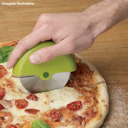 Cortador-de-pizza-de-aco-inox-Scoot-Joseph---Joseph-verde-11-cm---14866