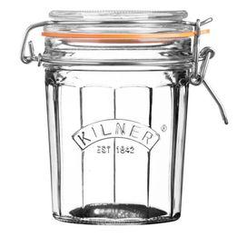 Pote-de-vidro-hermetico-Clip-Top-Facetado-Kilner-450-ml---24543