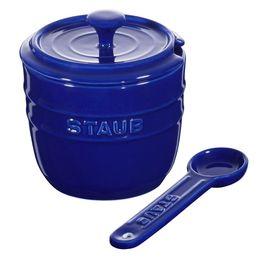 Acucareiro-de-ceramica-Staub-azul-marinho-9-cm---24969