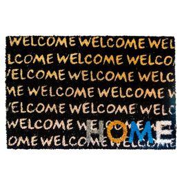 Capacho-de-fibra-de-coco-Welcome-Home-preto-60-x-40-cm---25065