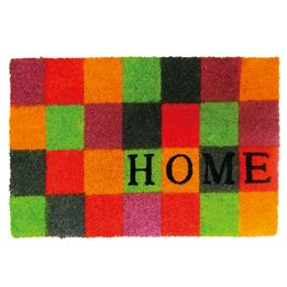 Capacho-de-fibra-de-coco-Xadrez-Home-color-60-x-40-cm---25074