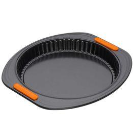 Forma-antiaderente-com-fundo-removivel-Bakeware-Le-Creuset-preta-28-x-3-cm---24790