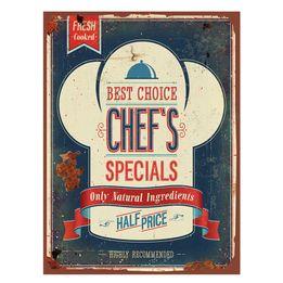 Placa-de-ferro-Chefs-azul-40-x-30-cm---25142
