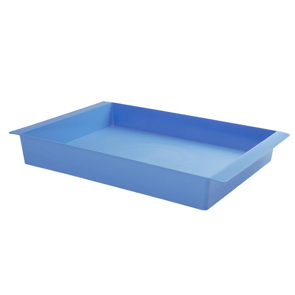 Bandeja de pl stico cake coza azul 40 x 30 cm 25299 - Bandeja de plastico ...
