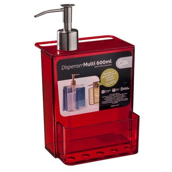 Porta-detergente-de-acrilico-Retro-Coza-vermelho-600-ml-–-4752