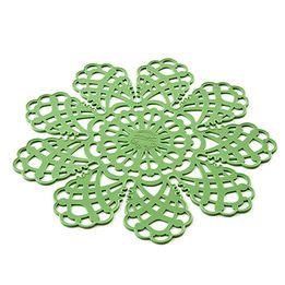 Descanso-de-panela-de-silicone-Silikomart-verde-28-cm---25541