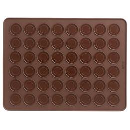 Tapete-de-silicone-para-macarons-Lekue-marrom-40-x-30-cm---25840