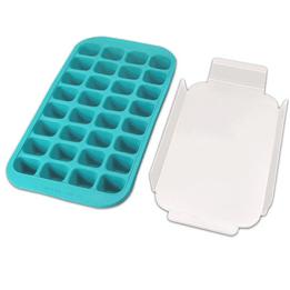 Forma-de-gelo-de-silicone-Lekue-azul-34-x-18-x-35-cm-–-25814