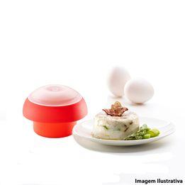 Cozedor-de-ovo-de-silicone-para-micro-ondas-Cilindrico-Lekue-vermelho-10-x-7-cm---25866