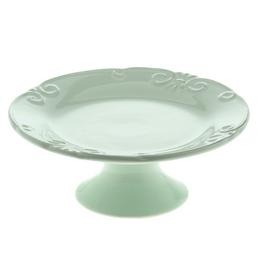 Prato-de-bolo-de-ceramica-Lace-verde-21-cm---26012