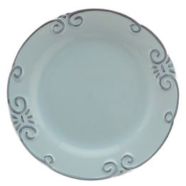 Prato-de-sobremesa-de-ceramica-Lace-azul-21-cm---26015