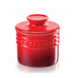 Pote-de-ceramica-para-manteiga-Le-Creuset-vermelha-150-ml---102185-