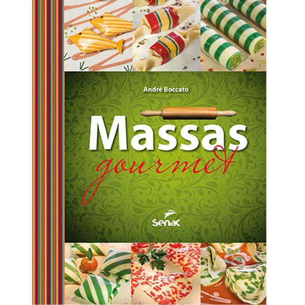 Livro Massas gourmet Senac - 27817