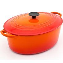 Panela-de-ferro-oval-Le-Creuset-laranja-31-cm