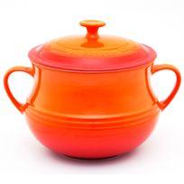Sopeira-de-ceramica-Le-Creuset-laranja-38-litros