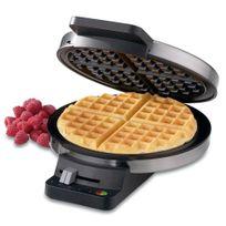 Waffle-de-aco-escovado-Cuisinart-110-volts