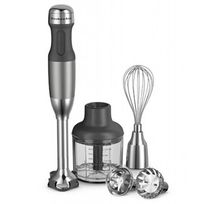 Mixer-multiuso-Kitchenaid-prata-com-11-pecas-110-volts