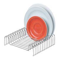 Organizador-de-prato-cromado-Future-para-12-pratos