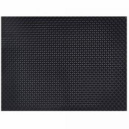 Jogo-americano-retangular-tramado-Premium-Copa-preto-34-x-45-cm
