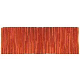 Passadeira-retangular-Orient-Cozi-Tyft-laranja-50-x-160-cm