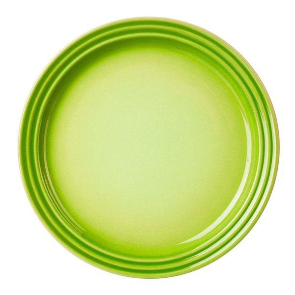 Prato-raso-de-ceramica-Le-Creuset-verde-kiwi-23-cm