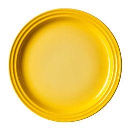 Prato-raso-de-ceramica-Le-Creuset-amarelo-dijon-23-cm