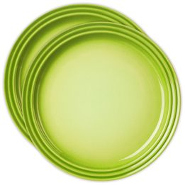 Conjunto-de-pratos-de-sobremesa-de-ceramica-verde-kiwi-15-cm