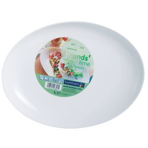 Prato-de-vidro-oval-friends-Luminarc-30-cm-