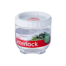 Pote-plastico-empilhavel-Lock---Lock-incolor-620-ml