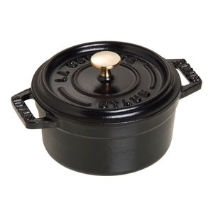 Mini-cocotte-de-ferro-redonda-Staub-preta-10-cm