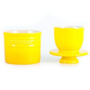 Pote-de-ceramica-para-manteiga-Le-Creuset-amarelo-dijon-260-ml---17560
