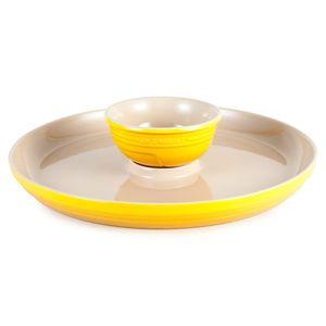 Petisqueira-de-ceramica-Le-Creuset-amrelo-dijon-34-cm---17858