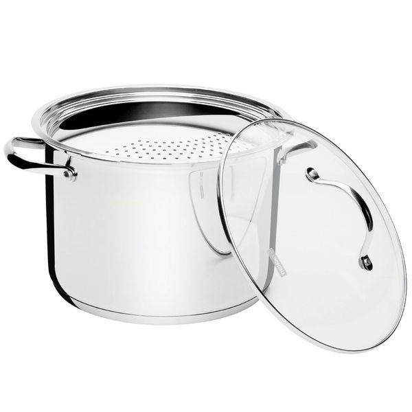 Espagueteira-de-inox-com-tampa-de-vidro-Tramontina-24-cm