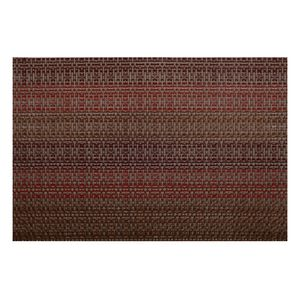 Jogo-americano-retangular-de-pvc-Kenya-istambul-marrom-45-x-30-cm---18058