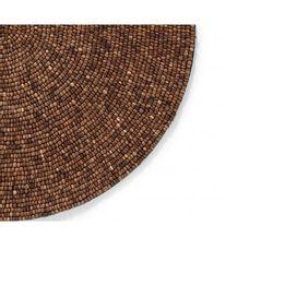 Jogo-americano-redondo-Mosaico-Castanho-marrom-38-cm---514