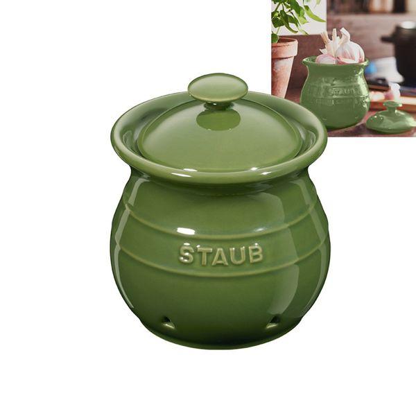 Pote-de-ceramica-para-alho-Staub-verde-12-cm---18397