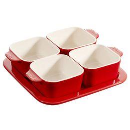 Petisqueira-de-ceramica-Staub-cereja-com-5-unidades-19-cm---18382