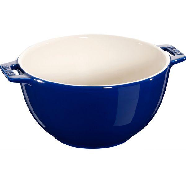 Bowl-de-ceramica-com-alca-Staub-azul-marinho-25-cm---18366