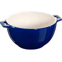 Bowl-de-ceramica-com-alca-Staub-azul-marinho-18-cm---18365