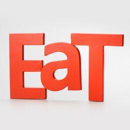 Letras-decorativas-de-metal-Eat-vermelha