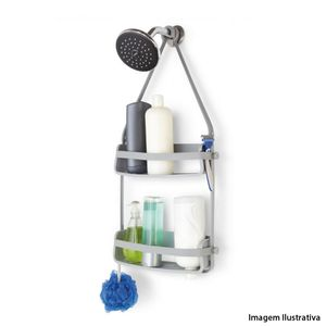 Porta-shampoo-e-sabonete-Flex-Umbra-cinza-9-x-31-x-64-cm---20175