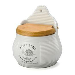 Saleiro-de-porcelana-com-tampa-de-bambu-Lyor-branco---20310