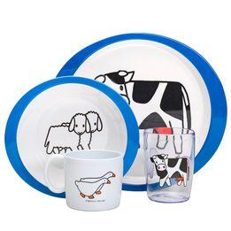 Conjunto-infantil-de-melamina-Farm-Rosti-mepal-com-4-pecas---105052