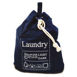 Saco-para-lavanderia-em-algodao-Yoi-Week-azul-marinho-60-x-55-cm---20714