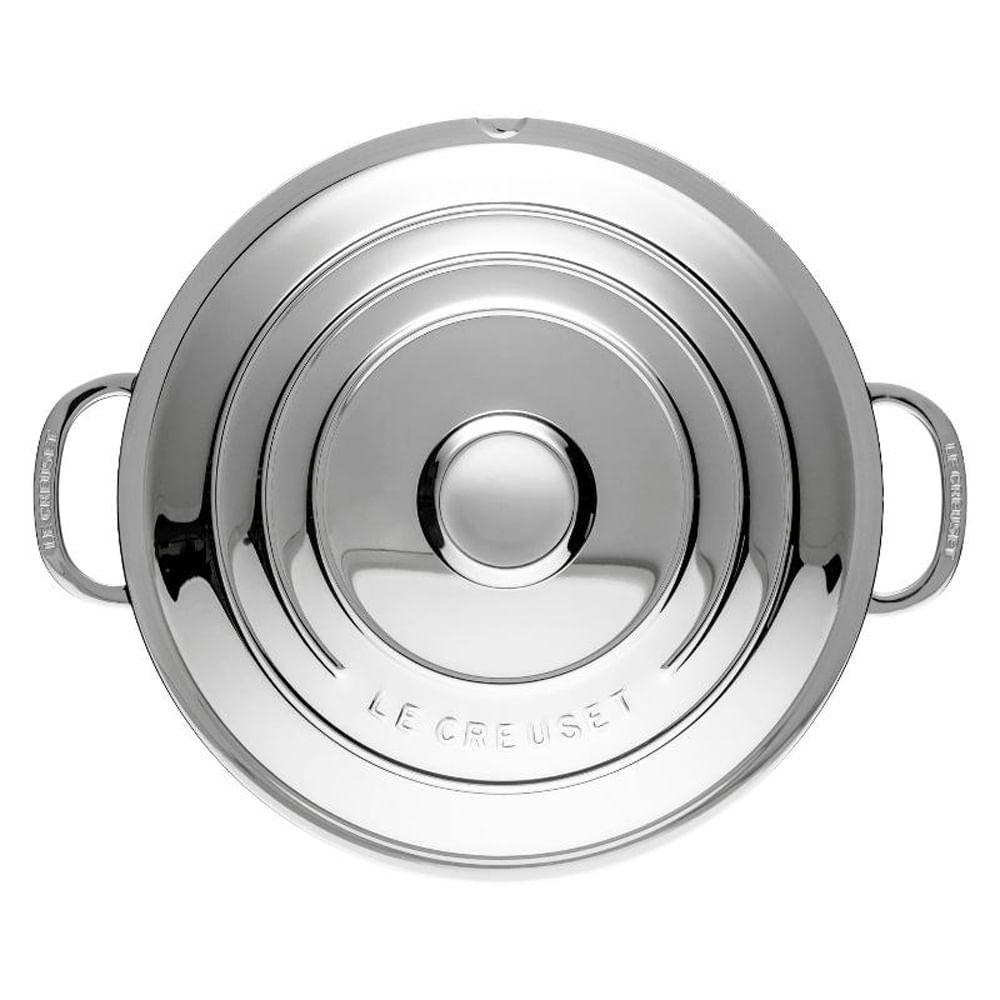 Panela de Aço Inox 3-Ply Le Creuset 24CM