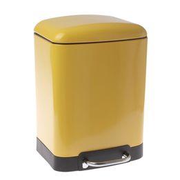 Lixeira-de-aco-inox-Modern-Week-amarela-6-litros---21825