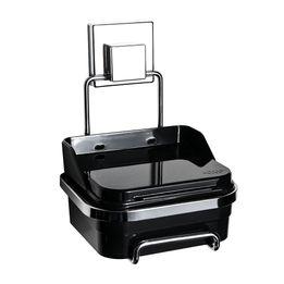 Saleiro-de-plastico-com-suporte-cromado-e-ventosa-Ou-preto-14-x-13-cm---22028