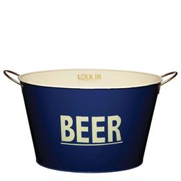 Balde-para-garrafas-de-metal-Beer-Kitchen-Craft-azul-40-x-25-cm---19818